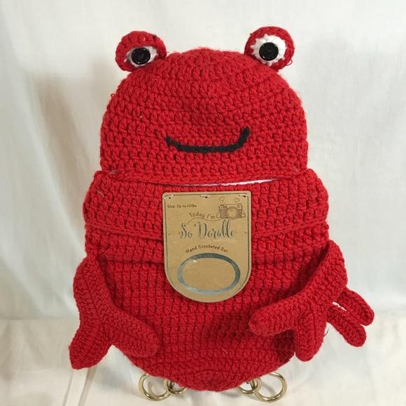 So Dorable Costumes Lobster Cocoon Photowear Crochet Halloween
